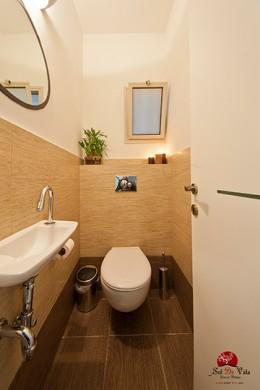 עיצוב פנים חדרי אמבטיה שירותים