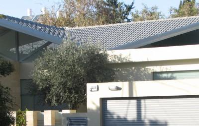 בית עם גג מרחף – רעננה