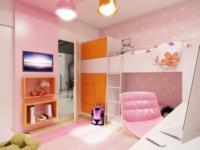 חדר לילדה בת 5