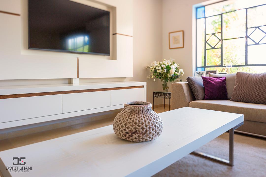 עיצוב הסלון