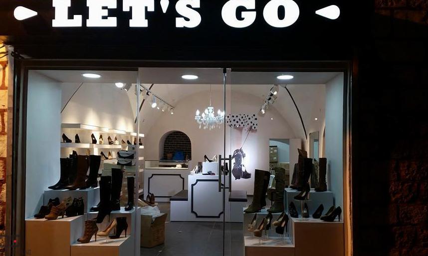 עיצוב פנים לחנות נעליים