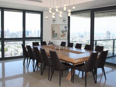 דירת בוטיק בקומה 28, מגדל W, תל-אביב