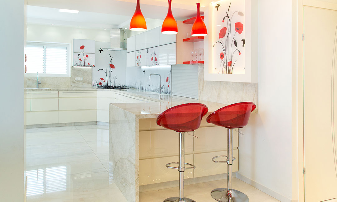עיצוב דירת פנטהאוז