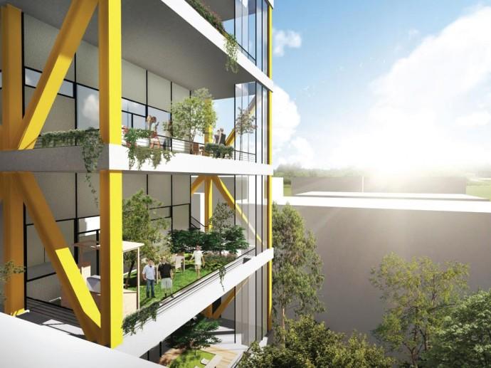 תכנון בניין מגורים בתל אביב