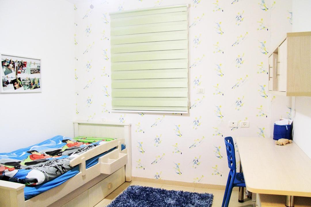 עיצוב חדר ילדים ברמת ישי