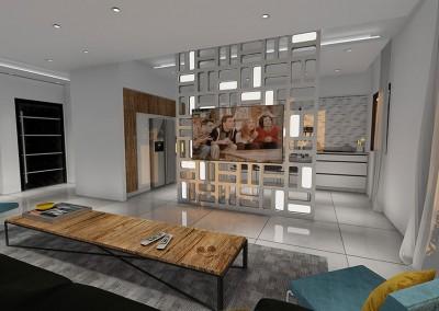 תכנון ועיצוב דירת יוקרה בנתניה