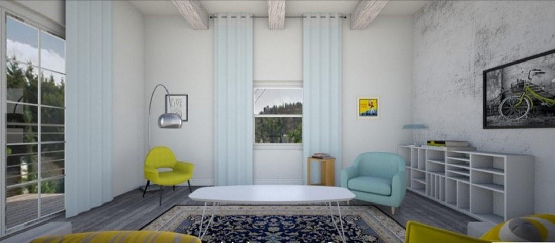 עיצוב ותכנון לדירה 4 חדרים ישנה בתל אביב
