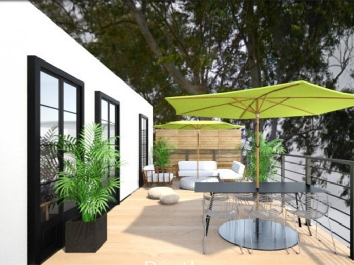 עיצוב ותכנון דירת פנטהאוס חדשה בתל אביב