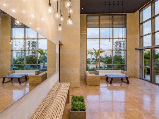 עיצוב ושיפוץ לובי בתל אביב