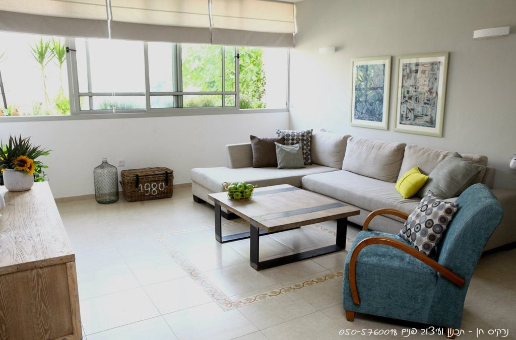 תכנון ועיצוב דירה ברמת גן