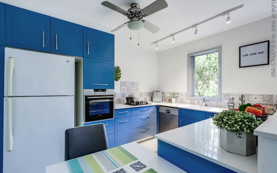 פרויקט תכנון ועיצוב דירה ברעננה