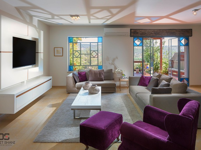 עיצוב חדרי מגורים