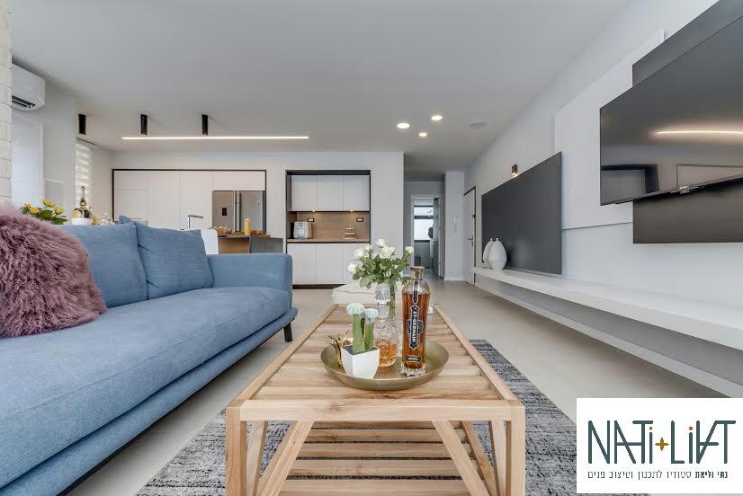 עיצוב מודרני – דירה בחולון