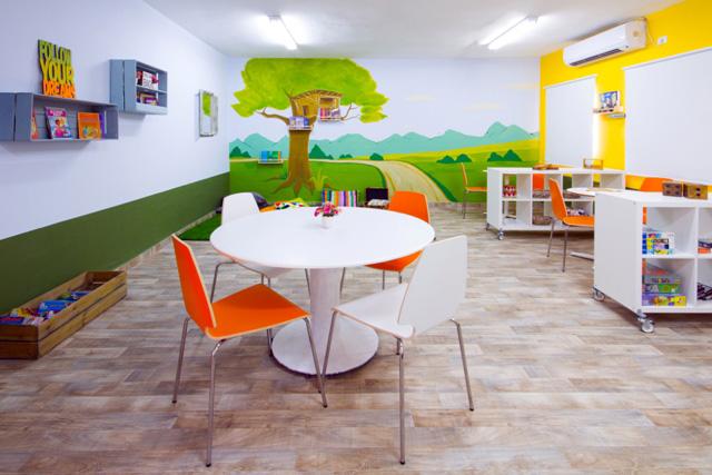 עיצוב כיתת לימוד – חדר חם